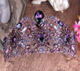 $enCountryForm.capitalKeyWord Australia - Bridal headwear Baroque color Air crown sells for a wedding dress accessories headwear.