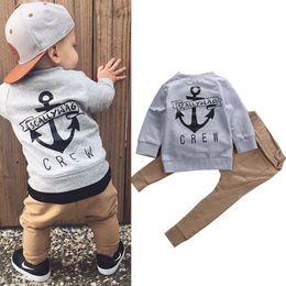 $enCountryForm.capitalKeyWord Australia - AiLe Rabbit Kids Boys Winter Clothes Set Newborn Toddler Kids Baby Boy Clothes T-shirt Hoodie Tops+Long Pants Outfits Set 2pcs