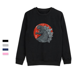 anime winter clothing 2019 - SMZY TOKYO KAIJU Hoodless Mens Hoodies Soft Casual Cool Hoodies Anime Popular Winter Funny Casual Vogue Tag-free Clothes