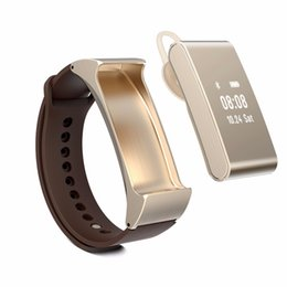 Discount m8 - M8 Smart Bracelet Talk Band Bluetooth Headset Support Pedometer wristband Sleep Monitor for Android Ios Smart Watch Andr