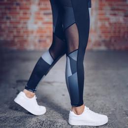 $enCountryForm.capitalKeyWord Australia - Printed Mesh Womens Yoga Pant Tights Running Leggings Sports Pants Fashion Female Yoga Fitness Sport Pants Slim Workout