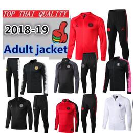$enCountryForm.capitalKeyWord NZ - 2018 Champions League Paris Jordam jacket training suit Survetement 2019 Jordam X PSG MBAPPE football kit soccer jackets jogging tracksuit