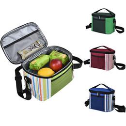 Picnic Ice Packs Australia - Folding Fresh Keeping Cooler Bag Lunch Bag For Steak Insulation Thermal Insulation Ice Pack Milk Storage Picnic