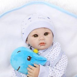 $enCountryForm.capitalKeyWord UK - 2018 new design Free shipping wholesale doll 22inch reborn baby doll boy doll or gifts lifelike soft silicone vinyl real gentle touch