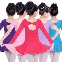 Dance Tutus Australia - Child Professional Gymnastics Ballet Leotard Tutu Dress Dance Costumes For Girls Ballerina Dancing Clothes Dancer Wear Clothing