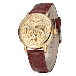 $enCountryForm.capitalKeyWord Australia - SEWOR Brand Business Male Skeleton Mechanical Watch Men Famous Luxury Watch Band Analog Clock Fashion Style Wristwatch SWQ32PU