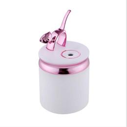 Творческий мини котенок увлажнитель эфирное масло диффузор аромалампу LED ночник Q Cat увлажнители USB Fogger освежитель воздуха