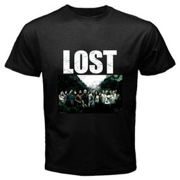 $enCountryForm.capitalKeyWord NZ - New Lost Tv Series Dharma The Staff Station Men's Black T-Shirt Size S To 3XL T Shirt Men Summer Casual