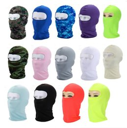 Wholesale Bicycle Face Mask Outdoor Riding Sports Face Protection Windproof Scarf Headgear Bike Cap Cycling Face Mask Motorcycle Sunscreen Warps