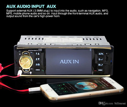 Auto Stereos NZ - Rectangle 4019B 4.1 inch 1 Din Car Radio Auto Audio Stereo USB Radio Station Bluetooth with Rearview Camera Remote control For Cars +B