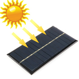 Solar Panel Systems Wholesalers Australia - 5pcs lot Solar Panel Portable Mini 6V 1W Sunpower DIY Module Panel System For Solar Lamp Battery Toys Phone Charger 110*60mm
