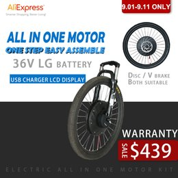 $enCountryForm.capitalKeyWord Australia - iMortor 36V 250W Electric Bicycle Hub Motor Wheel 26'' 700C with Battery Electric Bike Conversion Kit Ebike Parts All in One kit