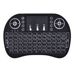 China Mini Wireless Bluetooth Remote Touchpad Mouse Mice Keyboard Keypad for PC Android Smart TV 2.4GHz Rechargeable suppliers