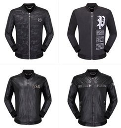 00d742b46afc Leopard print Leather jacket online shopping - merican fashion casual men s  long sleeved leather jacket