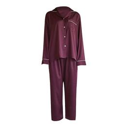 73b80f743 2018 Pijama Coreano Mulheres Pijamas Primavera E No Outono Longo Senhora  Novo Padrão Tempo de Lazer Mobiliário Doméstico Servir Terno
