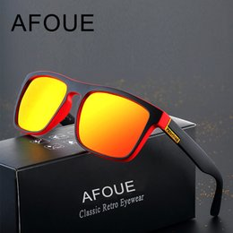 3161ffb99e Classic Polarized Sunglasses Men Women Reflective Coating Square Sun Glasses  UV400 Driving Fishing Sport Eyewear Oculos