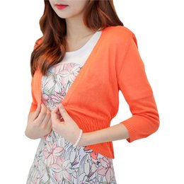 d6bb27be4b23 Shawl Spring Summer Thin Sweater Women long-sleeved Knit Cardigan Jacket Female  Sweaters air-conditioned Shirt Vestidos LXJ030