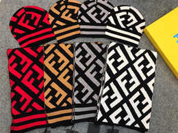 Discount knitting scarf designs - Italy Brand Adults Kids Scarf Hats Fashion Design Beanies Scarves Winter Warmer Men Women Crochet Caps Shawls Luxury Kni