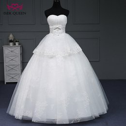 Discount Simple Wedding Cakes ISER QUEEN Off Shoulder Tiered Beading Princess Dress Ball Gown Cake