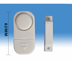 magnetic window alarms wholesale 2019 - 2018New arrivalS pecial Wireless Door Window Sensor Magnetic Switch Home Security Alarm Bell Burglar Warning Safety Syst