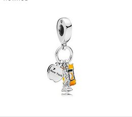 Liberty Cars UK - Fits Pandora Bracelets Statue Of Liberty Car Silver Charms Bead Dangle Charm Beads For Wholesale Diy European Sterling Necklace Jewelry