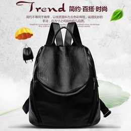 51f790c7a3 Artificial Leather Backpack for Women Elegant Ladies Travel School Shoulder  Bag