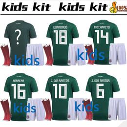 $enCountryForm.capitalKeyWord Canada - 2018 World Cup Mexico Kids kit+socks Soccer Jersey National Team CHICHARITO GUARDADO HERRERA 18 19 G . DOS SANTOS Football shirt