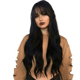 More Bangs NZ - Lace Front Human Hair Wigs Virgin Hair Peruvian Full Lace Wig With Baby Hairs Glueless Full Lace Human Wigs With Bangs