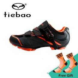 6ac5fc285f56 Tiebao New Design Men Mountain Bicycle Shoes Wear-resistance Cycling Shoes  Boots Soft Non-slip MTB Sapatos de ciclismo