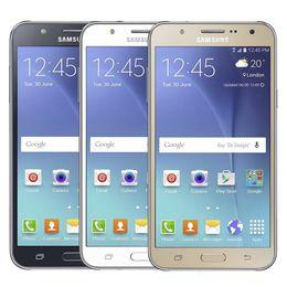 SamSung core lcd online shopping - Original Samsung Refurbished Galaxy J7 J700F Dual SIM inch LCD Octa Core GB RAM GB ROM Cheap G LTE Unlocked Android Phone DHL
