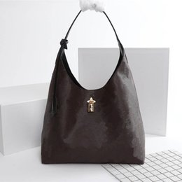 Großhandel FLOWER HOBO Luxus Marke Neu kommen Frau Mode Taschen Designer Tasche Größe 34 * 38 * 17 cm Modell 43545