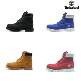 Prints color online shopping - 2018 New Timberland botas Men Designer Sports Shoes Sneakers Casual Trainers Mens Womens Luxury Brand timberlands boots