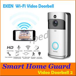$enCountryForm.capitalKeyWord Australia - Cheapest EKEN WIFI Doorbell Wireless Video Door Phone 720P HD PIR Intercom IP Camera Two way Audio 166° Wide-angle Camera Lens Security