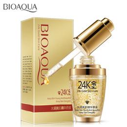 Wholesale BIOAQUA K Gold Face Cream Moisturizing Cream Hydrating K Gold Essence Serum For Women Face Skin Care Free DHL