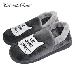 winter men warm home slippers NZ - 2018 Winter Autumn Warm Men Home Flats Comfortable Indoor House Men Slippers Shoes Pasoataques Brand 131
