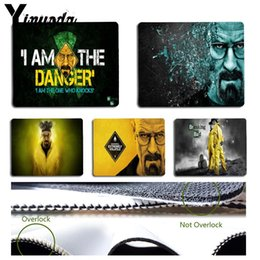 Broken Bad Australia - Yinuoda Top Quality Breaking Bad Keyboard Gaming MousePads Size for 18x22cm 25x29cm Rubber Mousemats