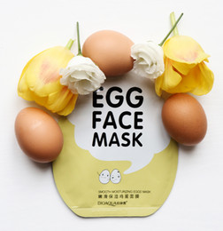 natural acne skin care NZ - 2018 10pcs   1box Skin Care face Moisturizing Egg Face Mask Collagen Skin Dilute Acne Facial Cosmetics 660294-01