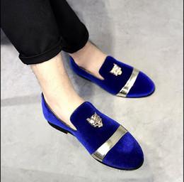 Discount Men Navy Blue Dress Shoes 2018 Navy Blue Leather Dress - Navy Blue Dress Shoes For Wedding