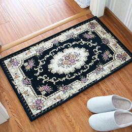 Kitchen Mat Rug NZ - 22 Style European Door Mat Anti-slip Carpet Dustproof Water Absorbent Carpet Bathroom Bedroom Living Room Floor Door Sofa Carpet Kitchen Rug