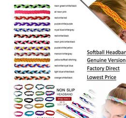 Hair band sport braid online shopping - new year Yoga Hair Bands DHL Mix Colors rope triple Braided mini Stretch Softball Sports Headbands