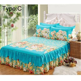 $enCountryForm.capitalKeyWord NZ - 2018 High Quality New Sanding Bedspread Queen Bed Skirt Thickened Fitted Sheet Single Double Bed Dust Ruffle Wholesale