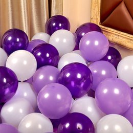Chinese Lantern Party Hot Australia - 100pcs lot 10inch Silver Latex Balloons 20 Colors Air Balls Inflatable Wedding Decoration Birthday Party Balloons Supplies