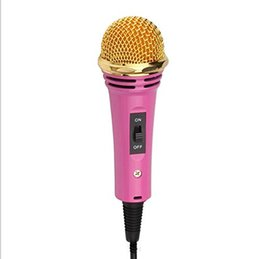 $enCountryForm.capitalKeyWord Australia - Mini Light Wired Handheld Condenser Microphone MIC with a Portable Holder for Studio Broadcasting Home Studio Youtube Podcasting
