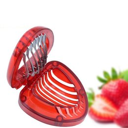 kitchen fruit vegetable carving 2019 - New Strawberry Slicer Fruit Vegetable Tools Carving Cake Decorative Cutter Kitchen Gadgets Accessories Strawberry Carvin