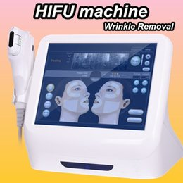 Wholesale FDA standard portable hifu machine high intensity focused ultrasound face lift skin lifting wrinkle removal beauty system