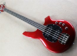 $enCountryForm.capitalKeyWord Canada - New Real photos Hot Selling High Quality Active Pickup Musicman Bongo red 4 String Music Man Electric Bass Guitar,can be custom
