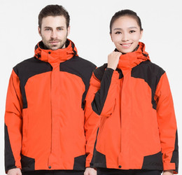 winter skate clothing 2019 - Ski suit men factory direct winter plus size work clothes waterproof and windproof outdoor custom jacket discount winter