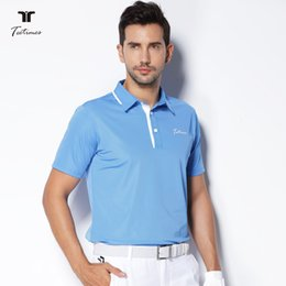 $enCountryForm.capitalKeyWord Australia - Teetimes New Arrival Golf Polo Shirts for Men Summer Male Quick Dry Breathable T-shirt Short Sleeved Outdoor Sport Golf apparel