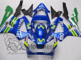 Honda Cbr929 Australia - Green Blue fairing Body For HONDA CBR900 RR CBR 929RR CBR 900RR CBR929RR 00 01 CBR929 CBR900RR 2000 2001 Fairings