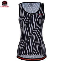 $enCountryForm.capitalKeyWord Canada - Black and white stripes Women Vest Sport Sleeveless Clothes Running Shirt Mesh Fabric Bike MTB Road Breathable Sportswear